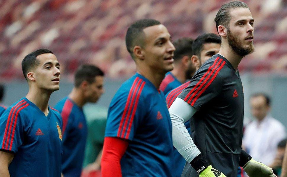 """De Gea a Lucas Vázquez: """"Negocia con Mourinho"""" (y no es Cristiano Ronaldo)   EFE"""