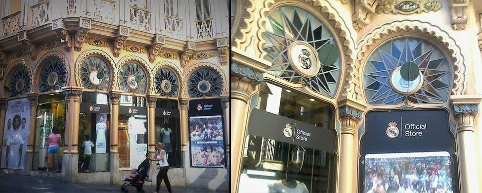El Ayuntamiento de Palma actúa contra la tienda oficial del Real Madrid