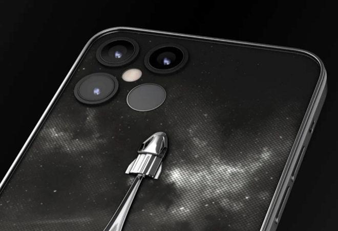 Fotografía: este es el iPhone más caro del mundo fabricado con piezas de transbordador espacial